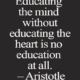 Educating The Mind