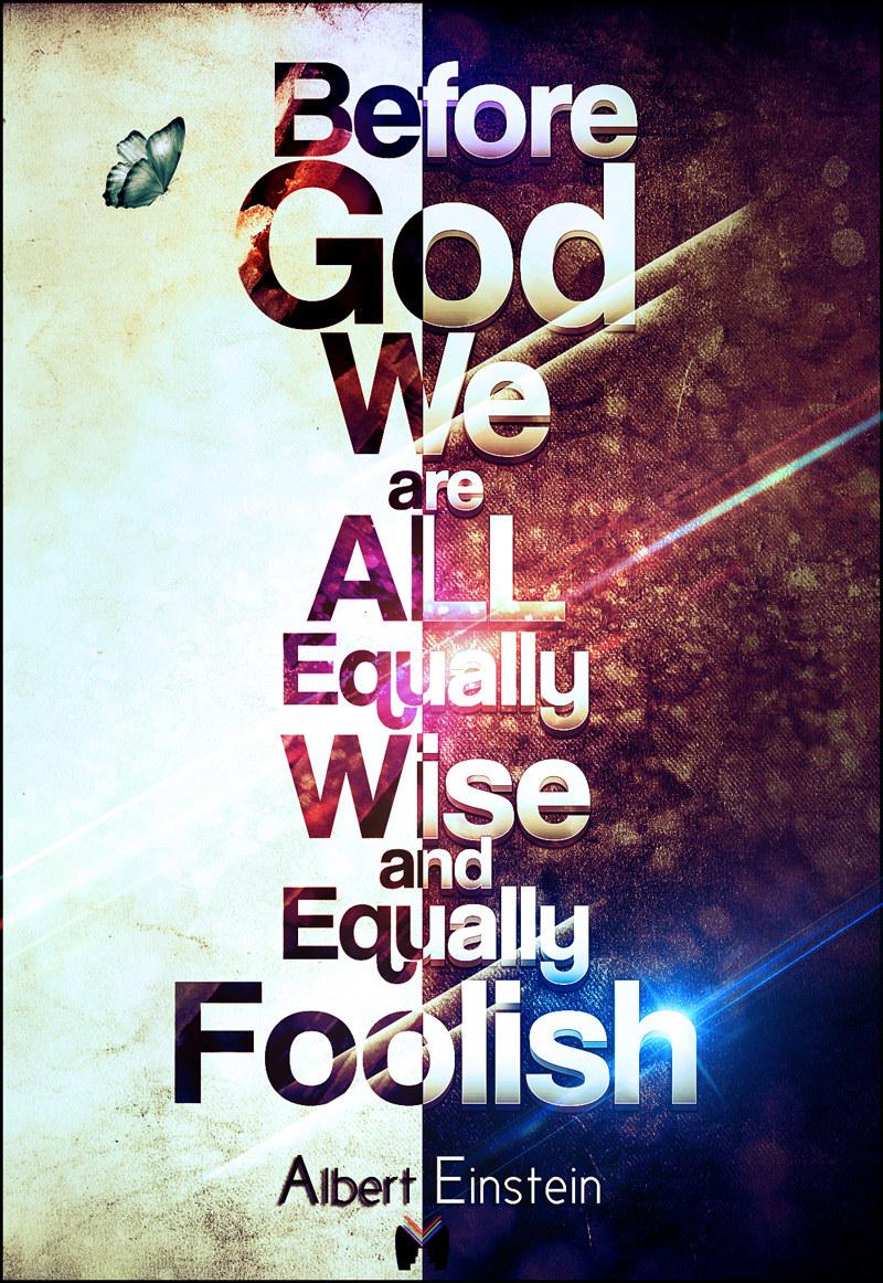 Equally Foolish