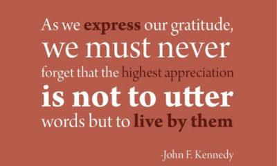 Express Our Gratitude