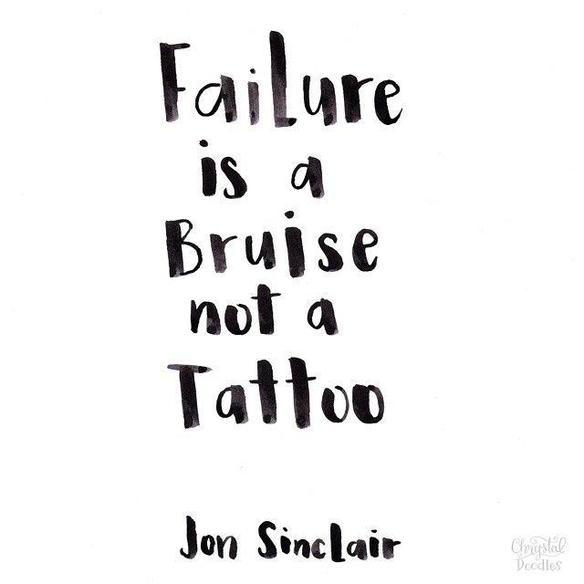 Failure Is A Bruise