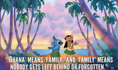 Family Means Nobody Gets Left Behind Lilo And Stitch Quotes Sayings Pictures