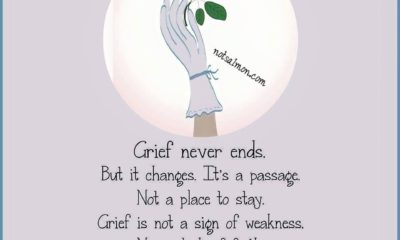 Grief Never Ends Life Daily Quotes Sayings Pictures