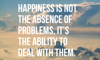 Happiness Ability Deal With Problems Life Daily Quotes Sayings Pictures