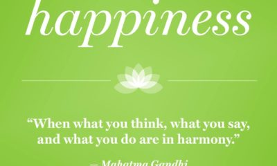 Happiness In Harmony Mahatma Gandhi Daily Quotes Sayings Pictures