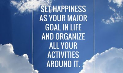 Happiness Is Your Goal