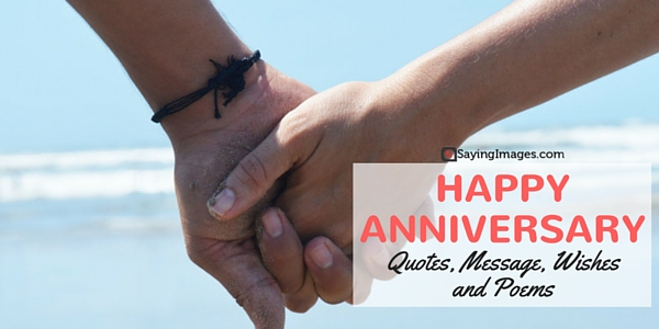 Happy Anniversary Quotes Message Wishes And Poems