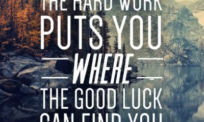 Hard Work Good Luck Motivational Daily Quotes Sayings Pictures