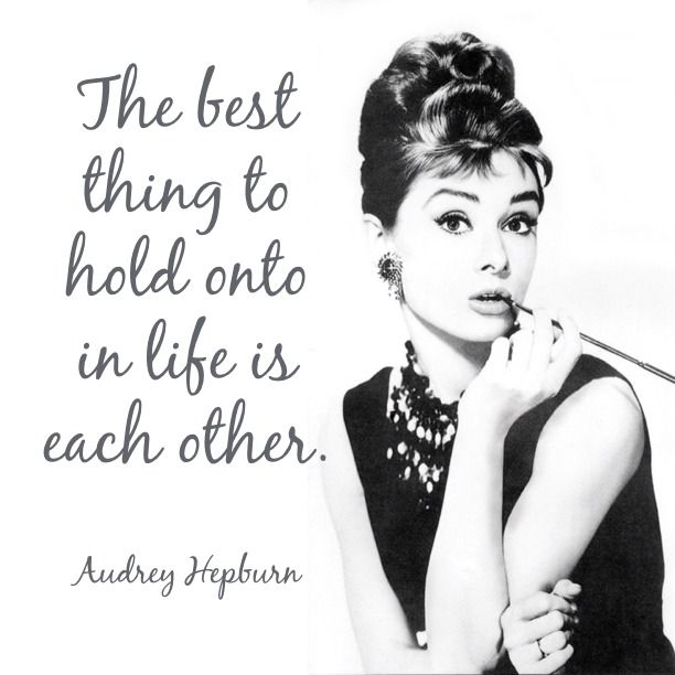 Hold Onto Each Other