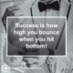 How High You Bounce Life Daily Quotes Sayings Pictures