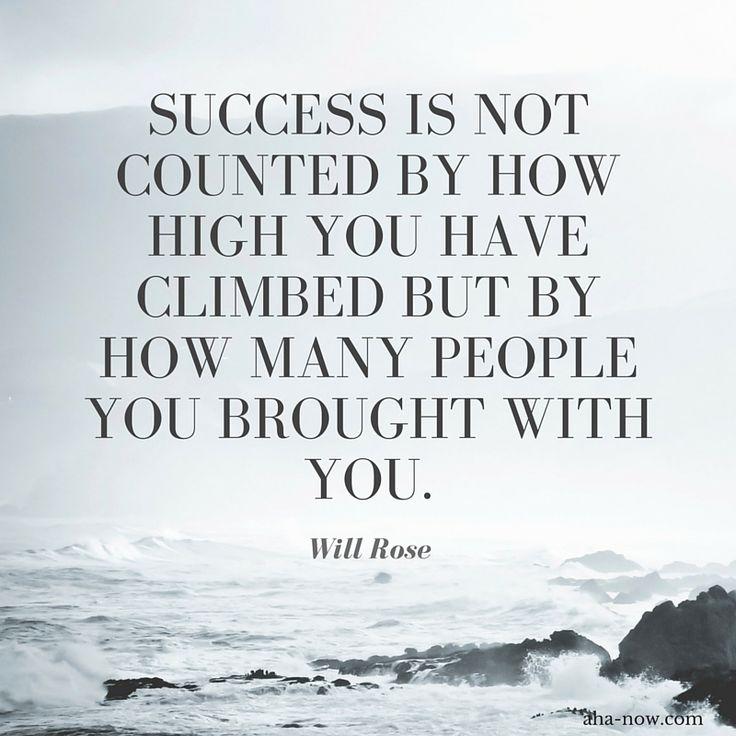 How High You Climbed