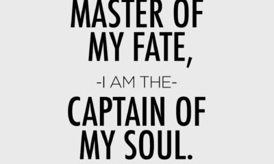 I Am The Master Of My Fate William Ernest Henley Daily Quotes Sayings Pictures
