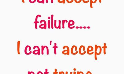 I Can Accept Failure