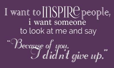 I Want To Inspire People Daily Quotes Sayings Pictures