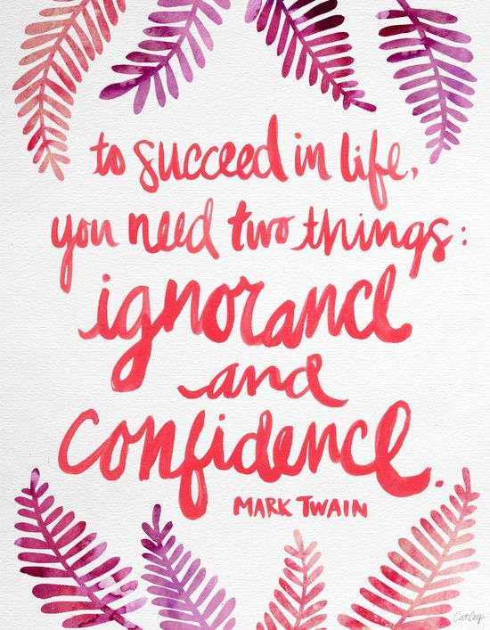 Ignorance And Confidence