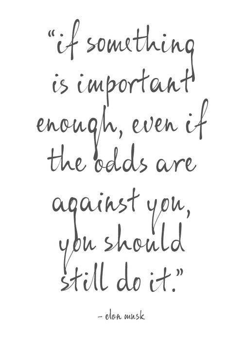Important Enough