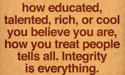 Integrity Is Everything