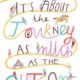 Its About The Journey