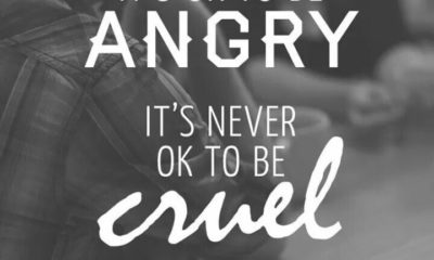 Its Ok To Be Angry