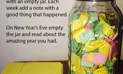 January Good Thing Note Jar Daily Quotes Sayings Pictures