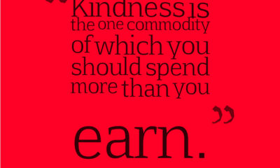 Kindness Is A Commodity