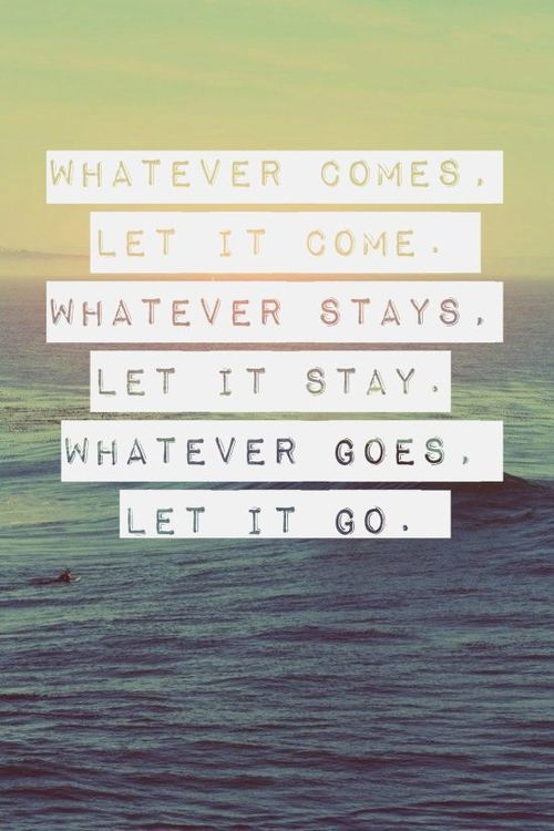 Let It Come