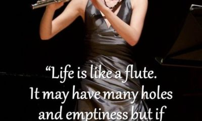 Life Is Like A Flute