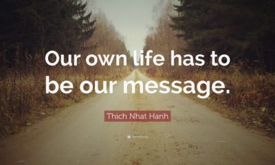 Life Our Mssage Thich Nhat Hanh Daily Quotes Sayings Pictures