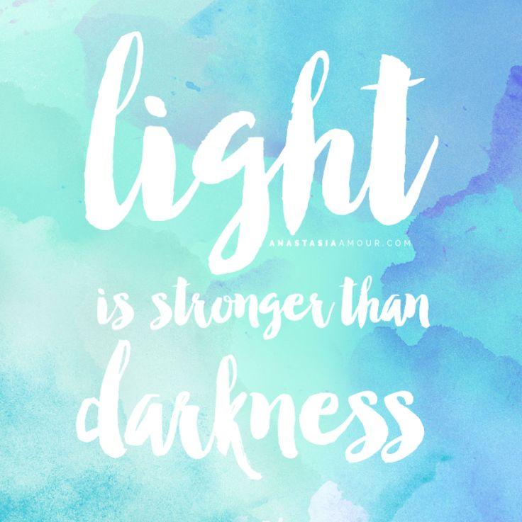 Light Is Stronger