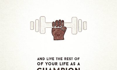 Live Life As Champion Motivational Daily Quotes Sayings Pictures