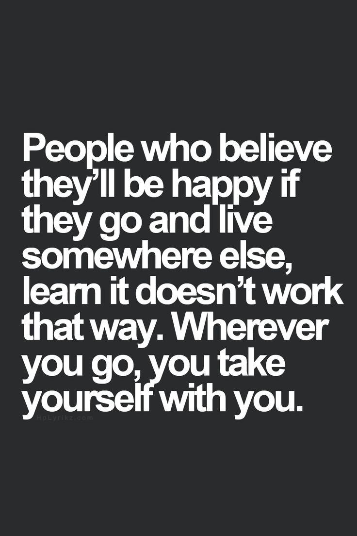 Live Somewhere Else