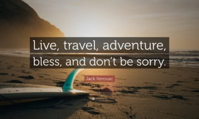 Live Travel Adventure Jack Kerouac Daily Quotes Sayings Pictures