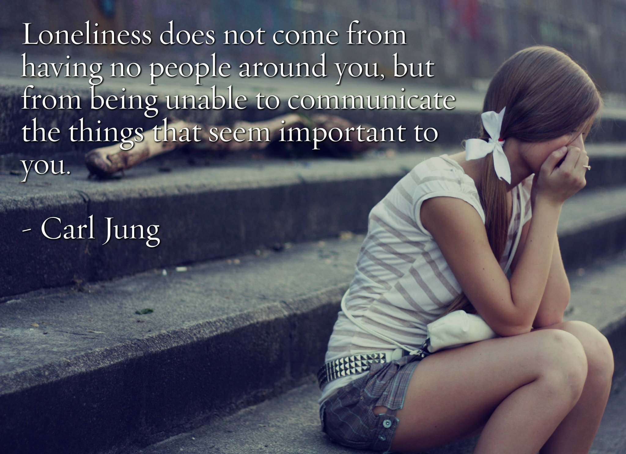 Loneliness Carl Jung Daily Quotes Sayings Pictures