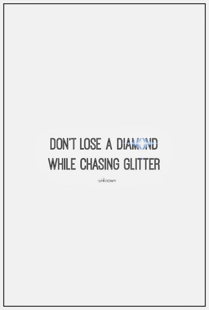 Lose A Diamond
