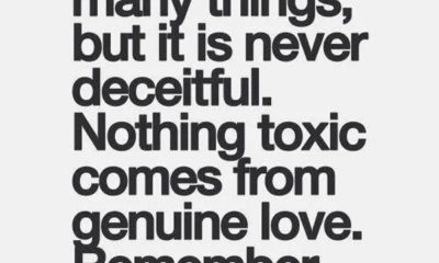 Love Is Never Deceitful