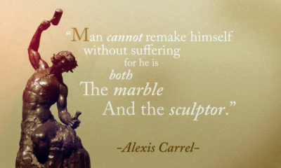 Man Cannot Remake Himself Alexis Carrel Daily Quotes Sayings Pictures