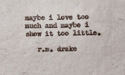Maybe I Love Too Much