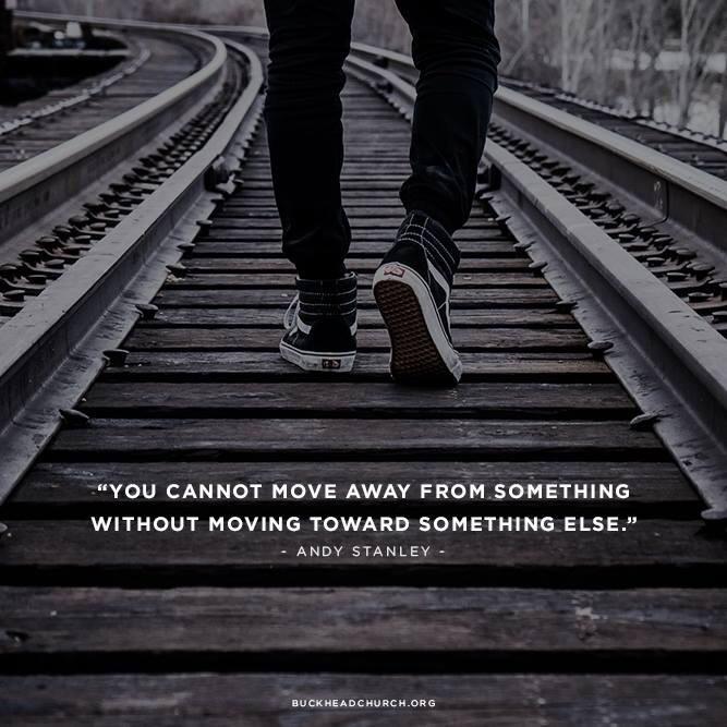 Moving Toward Something