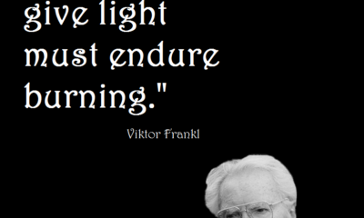 Must Endure Burning Viktor Frankl Daily Quotes Sayings Pictures