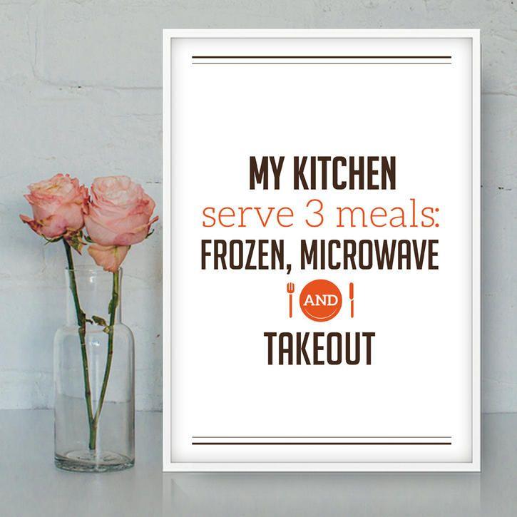 My Kitchen Serves 3 Meals
