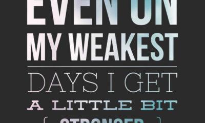 My Weakest Days