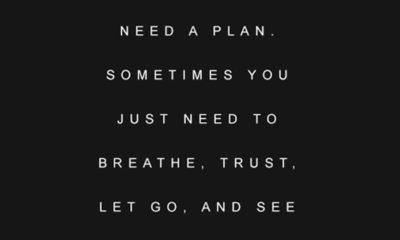 Need A Plan