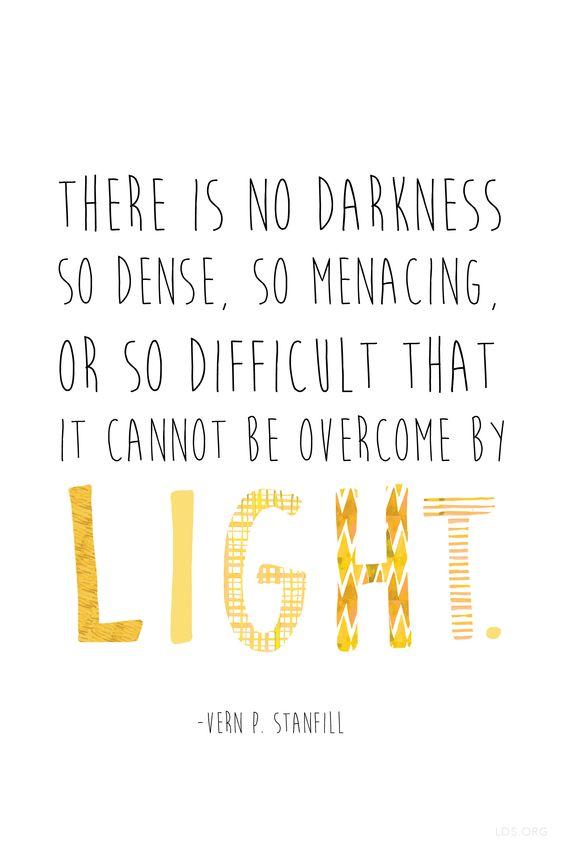 No Darkness So Dense