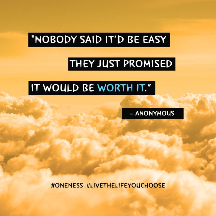 Nobody Said It D Be Easy Word Porn Quotes Love Quotes Life
