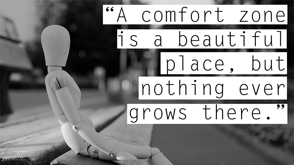 Nothing Ever Grows Comfort Zone Inspirational Quotes Sayings Pictures