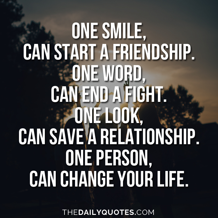 one smile can change your life word porn quotes love quotes
