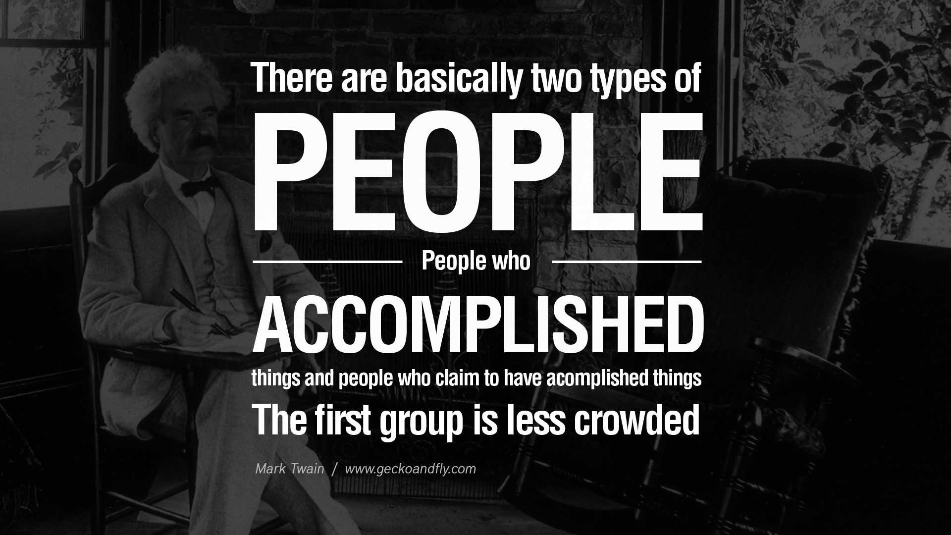 People Who Accomplished Things Mark Twain Daily Quotes Sayings Pictures