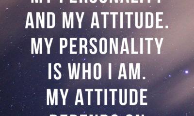 Personality Attitude