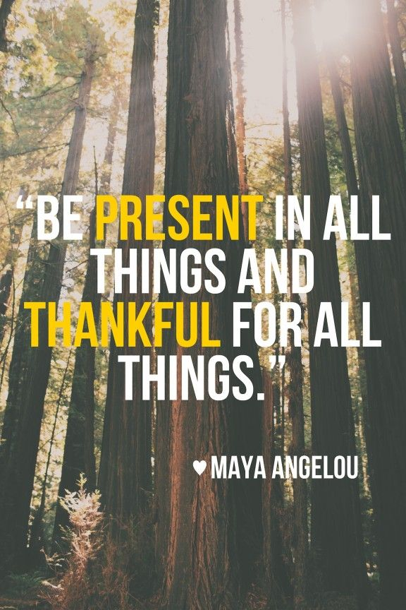 Present In All Things