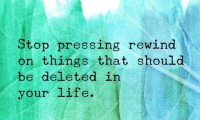Pressing Rewind