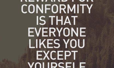 Reward For Conformity